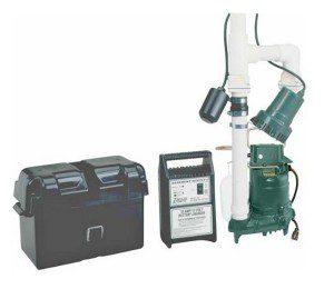 battery powered backup sump pump