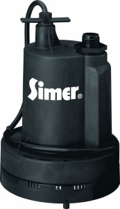 industrial submersible sump pump