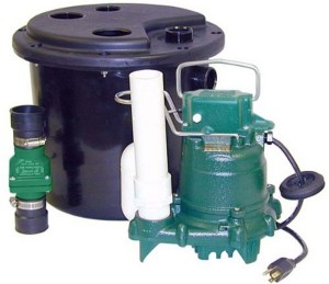 zoeller water powered sump pump
