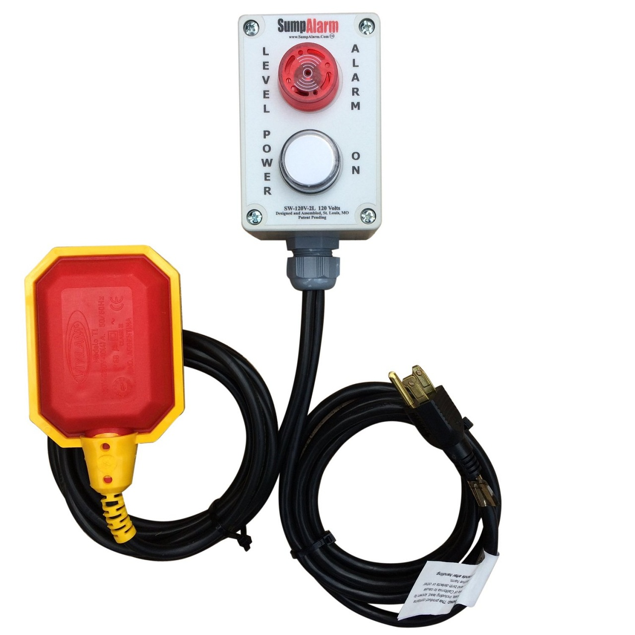Best sump pump backup system - In Outdoor High Water Alarm W Pilot Light And Horn For Septic Sump Pond Other Applications
