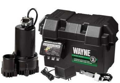 WAYNE ESP25 Battery Backup Sump Pump System Reviews