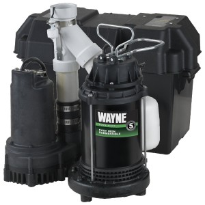 Wayne WSS30V Primary and Backup Sump Pump Review