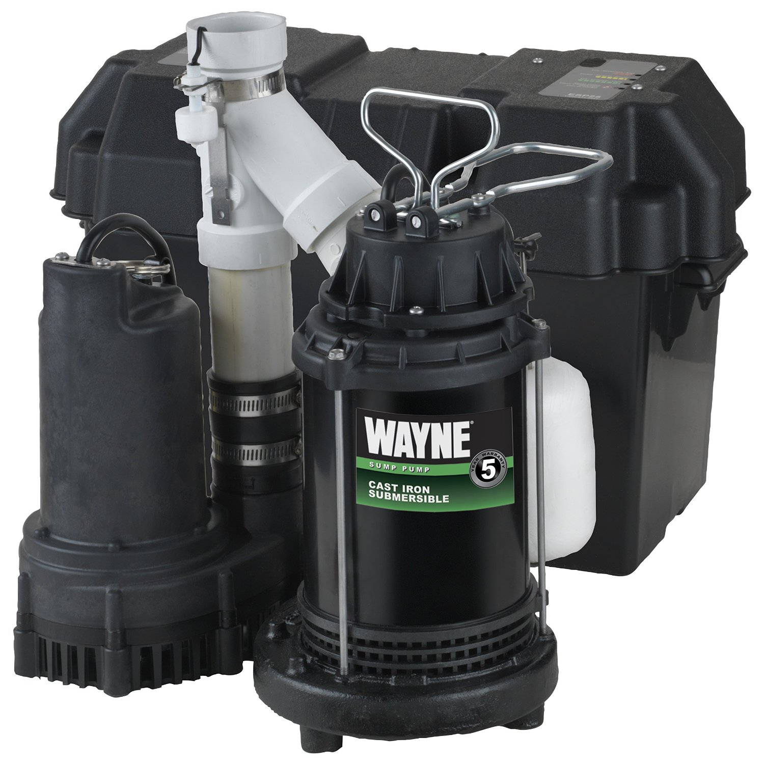 wayne wss30v primary and battery backup sump pump reviews