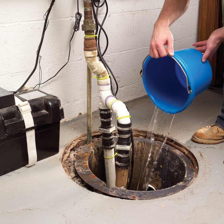 how to test a sump pump float switch