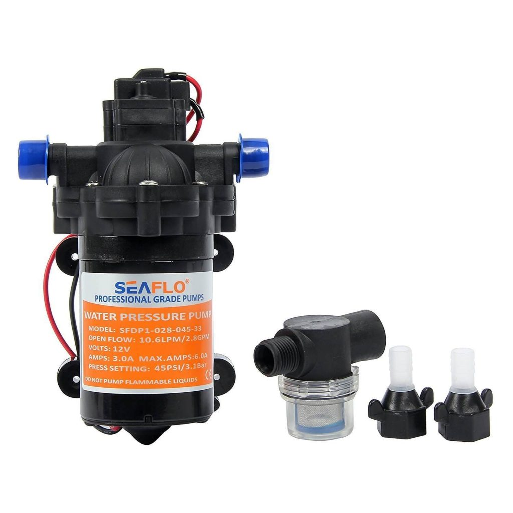 Best Rv Water Pump 2018 Reviews With Comparison Chart