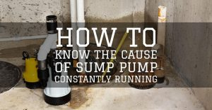 Continuous Running of a Sump Pump