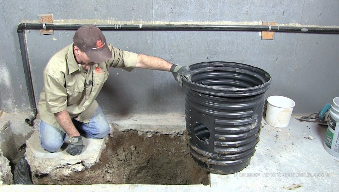 how to change a float sump pump