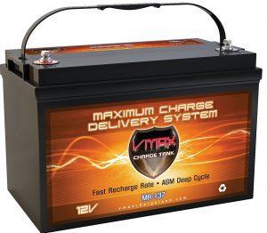 Vmaxtanks MR137 AGM Battery 120AH Marine