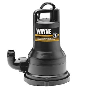small sump pump with float