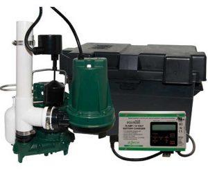 Zoeller Aquanot® 508-0007 12 Volt backup sump pump