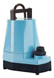 little giant 505000 water wizard 5 series submersible utility pump