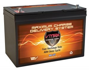 VMAX MR127 12 Volt 100Ah AGM Deep Cycle Maintenance Free Battery