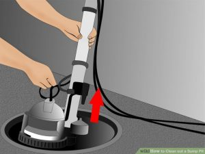 steps to clean a sump pump