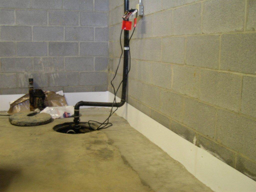 install sump pump in existing basement