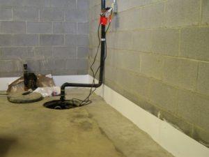 Replacing the Sump Pump