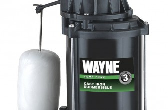 Wayne CDU800 Submersible Cast Iron and Steel Sump Pump Review