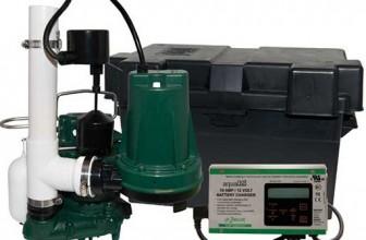Zoeller Aquanot® 508-0007 12 Volt backup sump pump WITH M98 pump