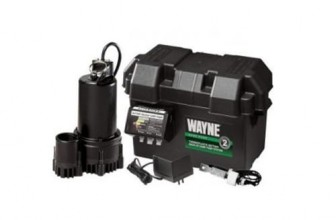 WAYNE ESP25 Battery Backup Sump Pump System