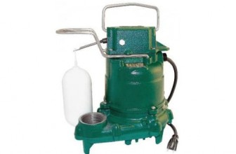 Zoeller M53 Mighty-Mate Submersible Sump Pump
