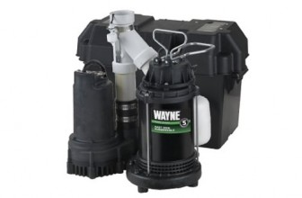 Wayne WSS30V Primary and Battery Backup Sump Pump