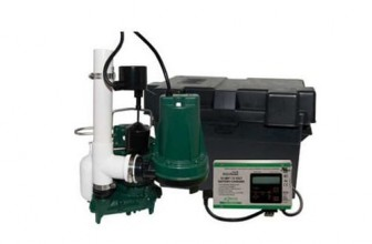 Zoeller Aquanot® 508-0007 12 Volt backup sump pump WITH M98 pump